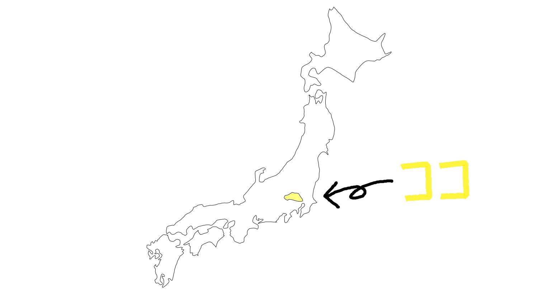日本地図,春日部