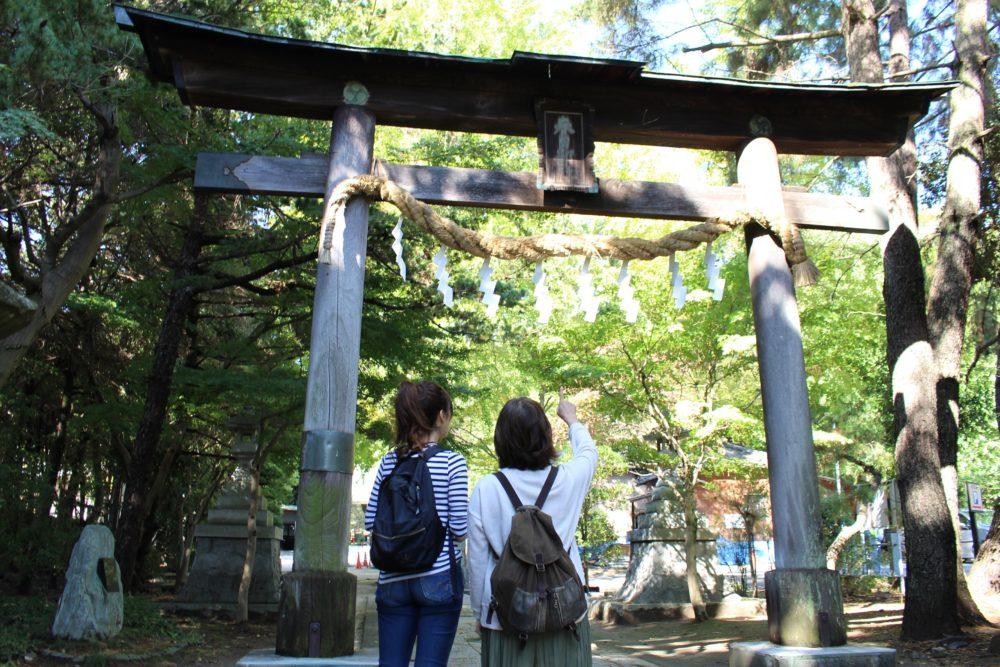 八幡神社,春日部,鳥居