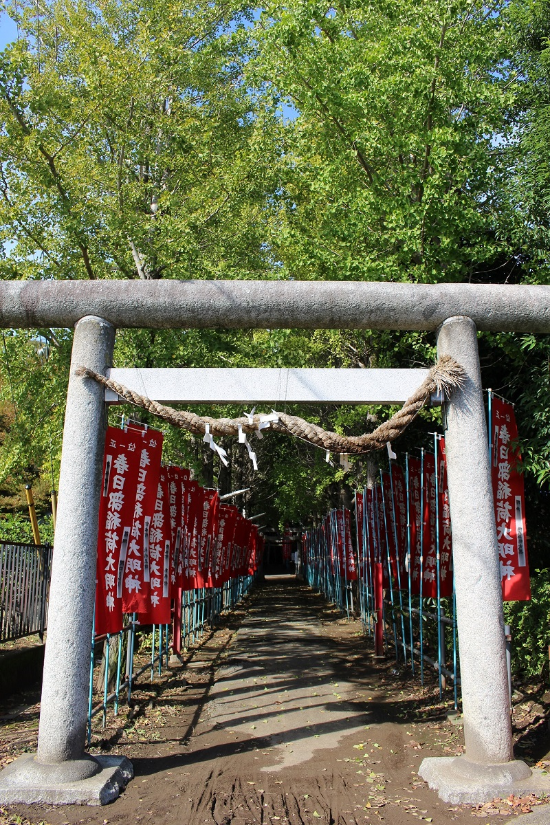 稲荷神社,春日部