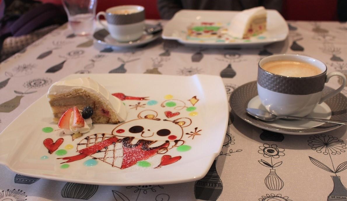 カフェ,cafe,デザート,ケーキ,イラスト,イタリアン,春日部,武里,Kan'scafe