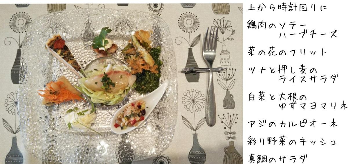 春日部,武里Kan'scafe,イタリアン,前菜