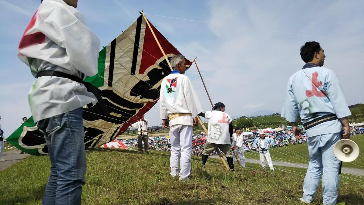 春日部,大凧あげ祭り,小凧江戸川