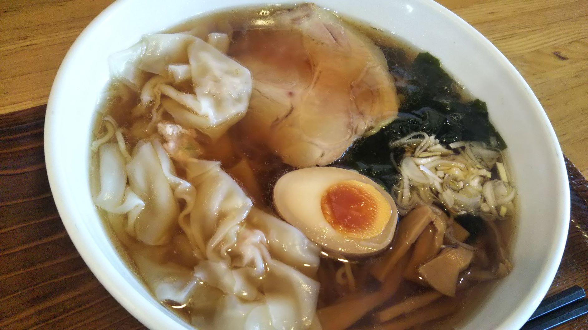 春日部市,中華,フーロン,ワンタン麺,ラーメン
